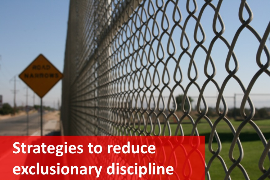 Reducing exclusionary discipline