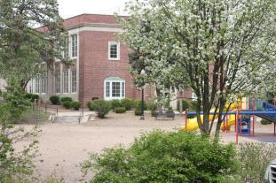 School Building & Playground