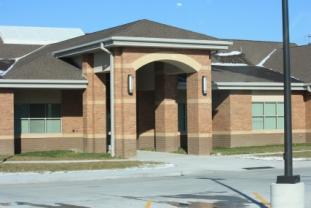 School Building Front Door