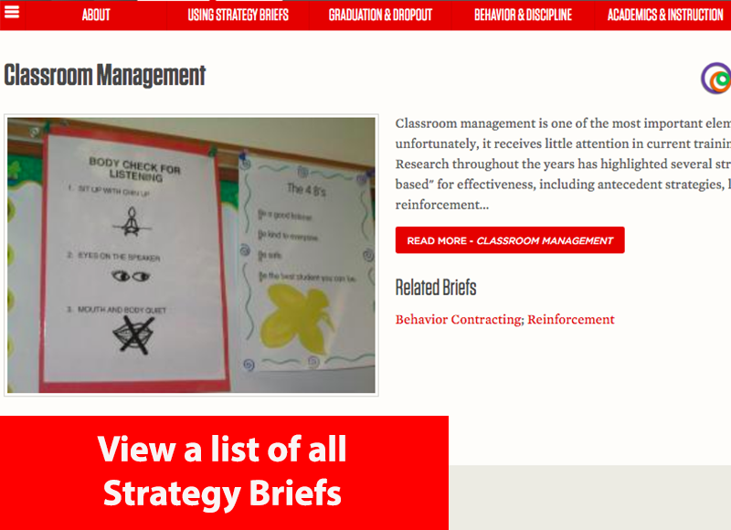 View all strategy briefs