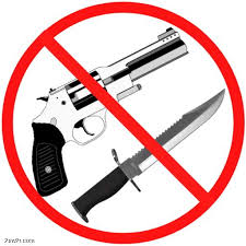 No Guns or Weapons