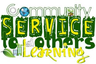 service learning and community service